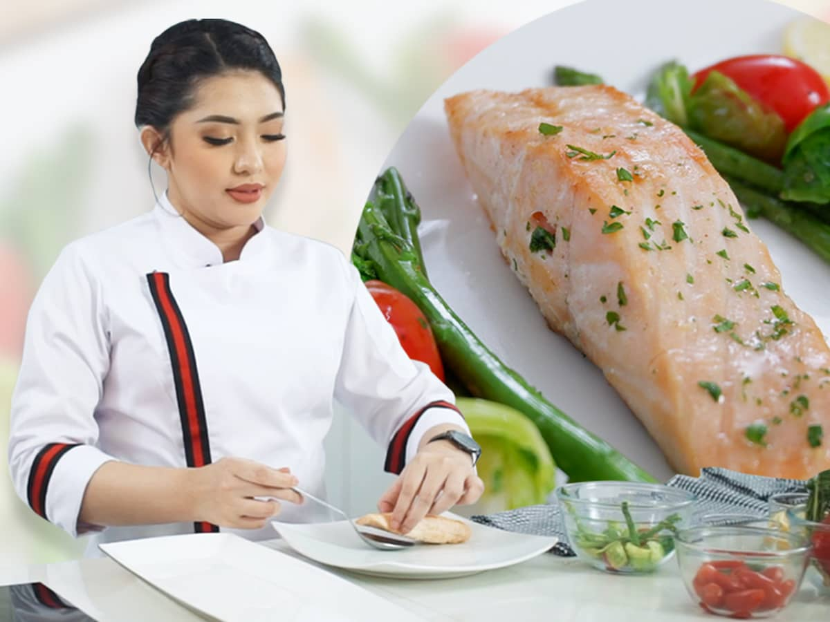 You are currently viewing Menu Grilled Salmon Praktis dan Sehat ala Chef Laura
